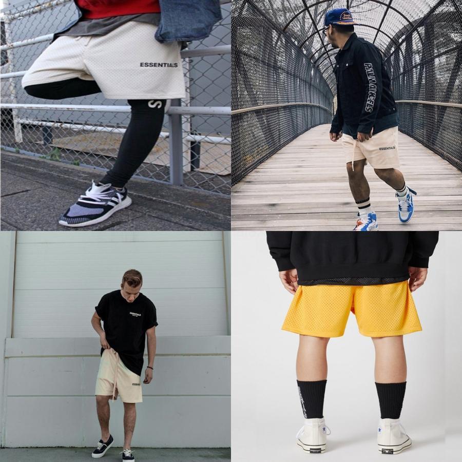 Основы мужские костюмы дизайнера Justin Bieber То же Баскетбол шорты гавайский пляж штаны Свободное время пляж шорты Основы Me # 142