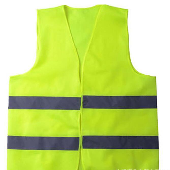 Sicurezza gilet ad alta visibilità riflettente banda Traffico Gilet Edilizia Traffic Building Sanitation Workers Indumenti riflettenti DHB2150