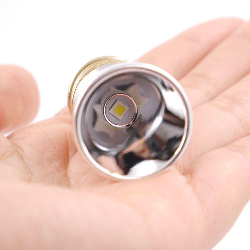 26.5mm Cree XP-L HI V3 blanc froid 6500K / blanc neutre 4300K / 3000K LED Réchauffez Drop-in pour 501B 502B