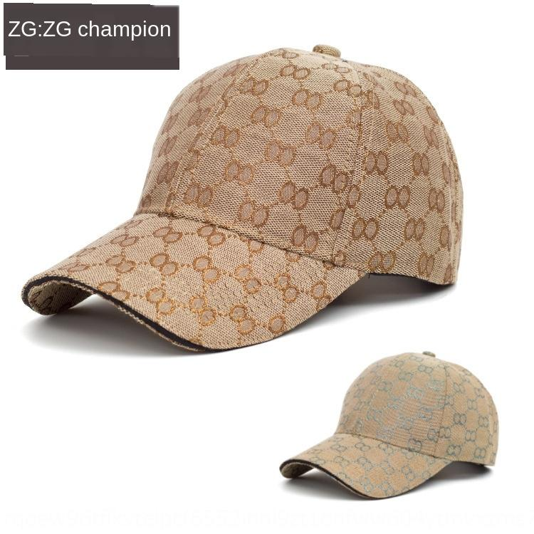 2020 new baseball sun Hat sun hat men's summer Korean outdoor all-match printed baseball cap women's casual sunshade cap