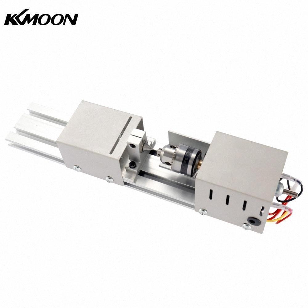 KKmoon المهنية الخرز صقل وتلميع آلة صغيرة مخرطة DIY النجارة حرفة الروتاري آلة mSAG #