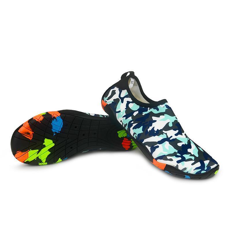 Unisexe Chaussures de sport Sports nautiques Aqua Mer Plage Surf Chaussons Amont Lumière Athlétique Chaussures Hommes Femmes Chaussures natation