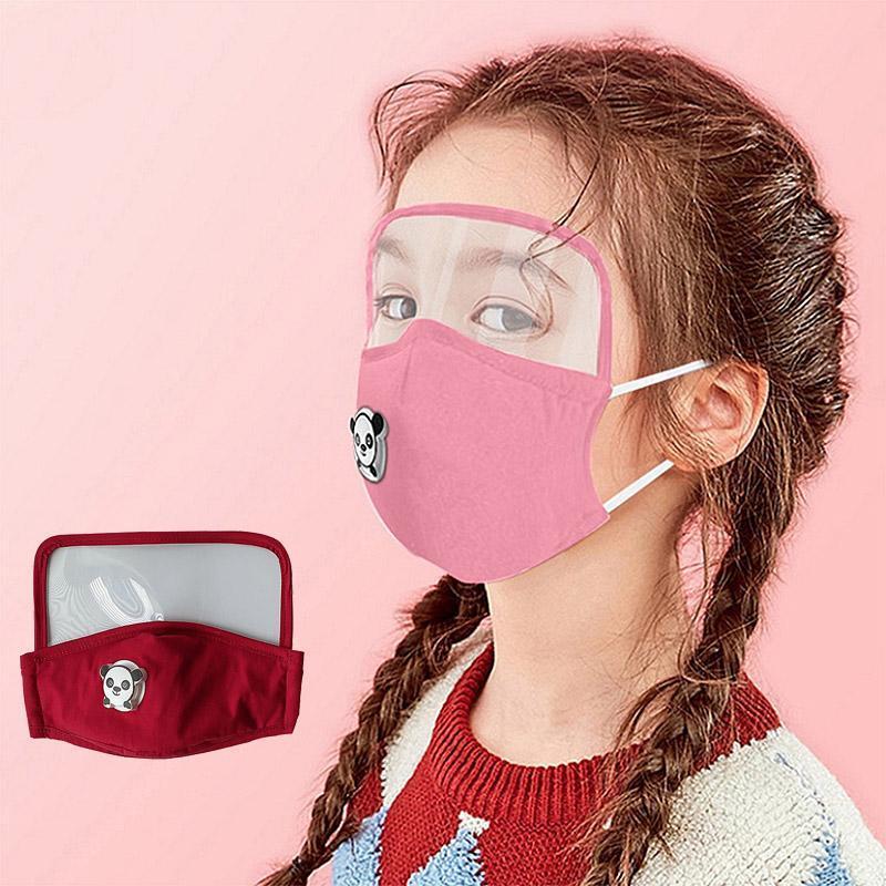 Maske Multipurpose Gesichtsschutz 2020 neue Kinder-Maske für Schutz Gern Atemluftventil-Schablone Freier DHL