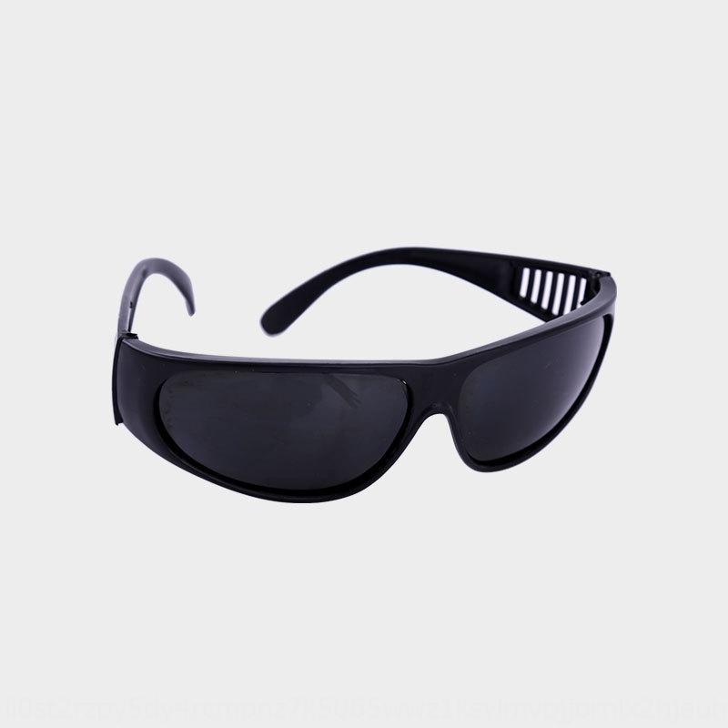 Shengkang yeux de soudage lisses en forme d'arc yeux de verre de lunettes de protection en plastique blanc gris noir de lunettes de protection