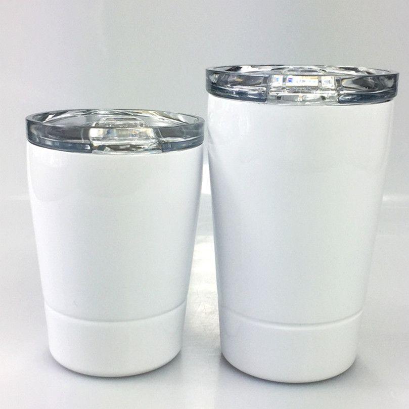 Fedex DIY сублимации 12oz дети тумблер 304 из нержавеющей стали тумблер ребенок бутылки воды малышей чашки фужеры