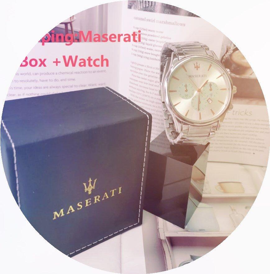 43mm 2813 движение мужчину водонепроницаемых часов бизнес кварцевого Мужской Time Clock Designer часы с оригинальной коробкой