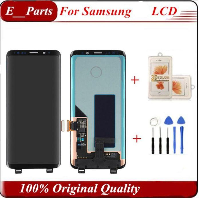 İyi Fiyat İçin Samsung S9 LCD s9 artı G960f G965 Ekran Dokunmatik Ekran Sayısallaştırıcı Meclisi