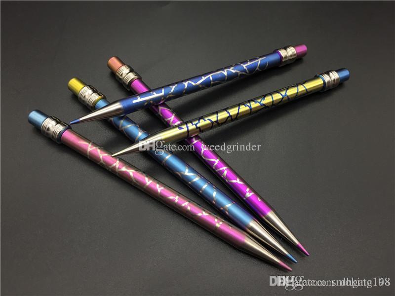 New Design Titanium Dab Tool sem amor de titânio de lápis de cor desleal com titânio Dabber para tubos de água de vidro