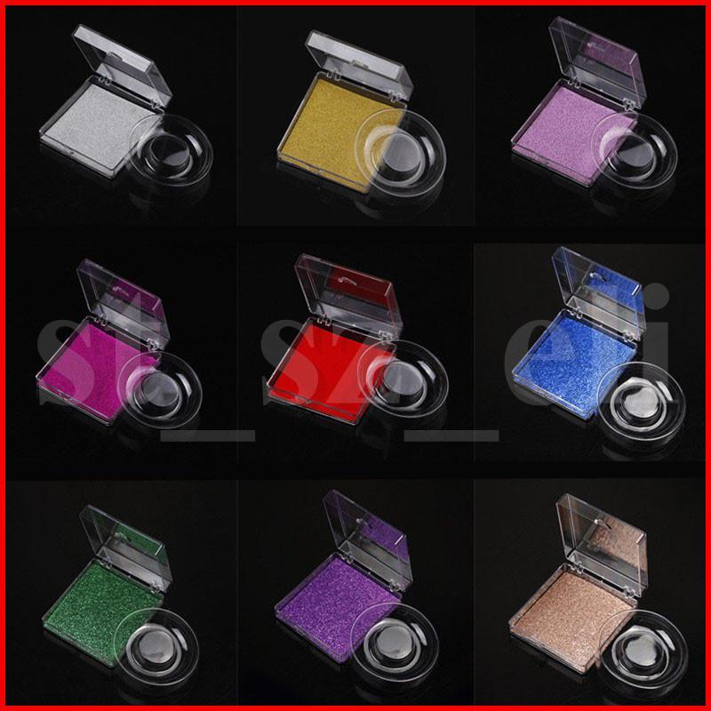 Plastik Kirpik Tepsili Kutu 3D Kirpikler Kutusu Şeffaf Plastik Şeffaf Kirpik Box Packaging Kare Yanlış Eyelashes Packaging