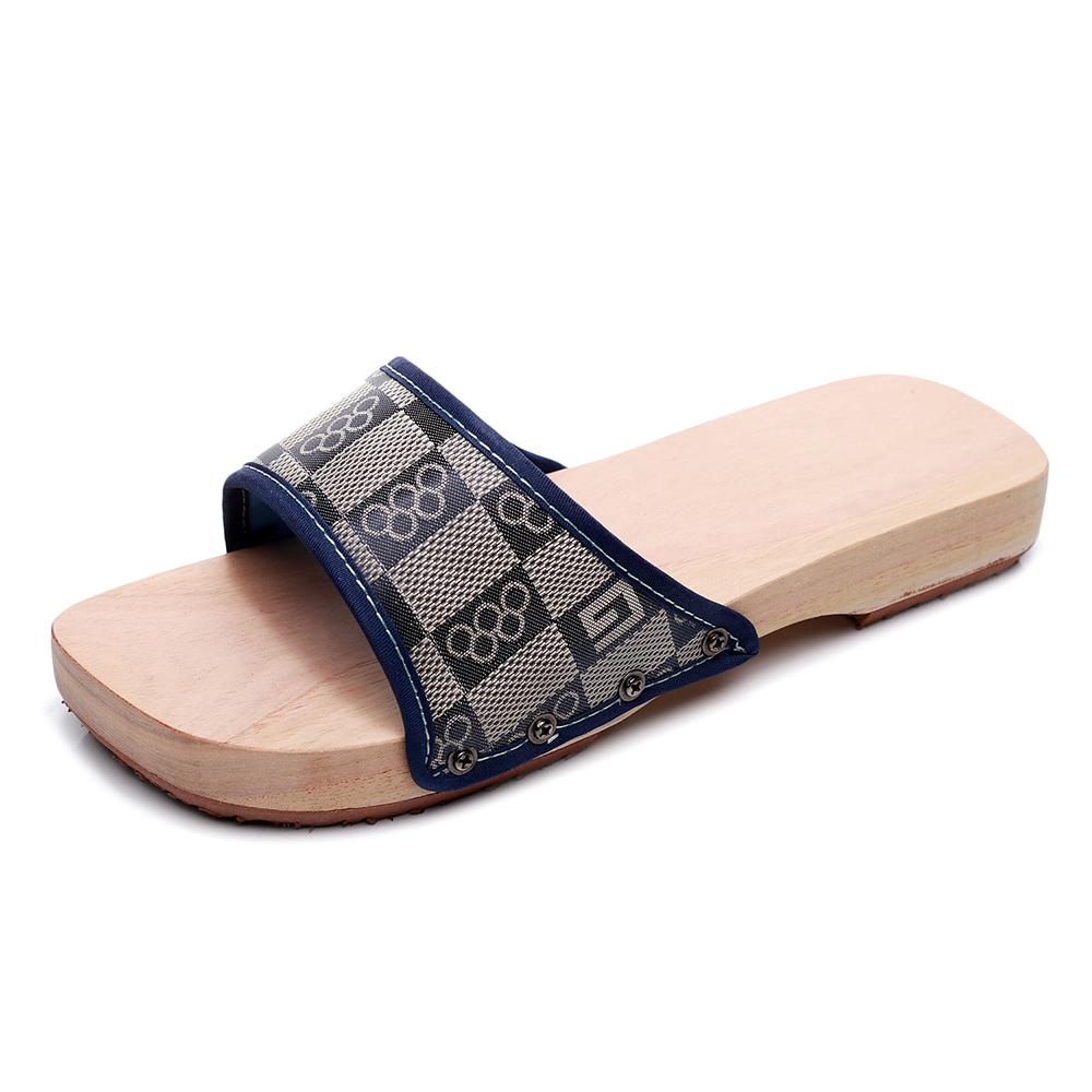 Summer Japanese Wood Clogs Geta Slippers Japanese Wooden Clogs for Women Kimono Flip-flops Shoes Chinese Traditional Outdoor Sandals