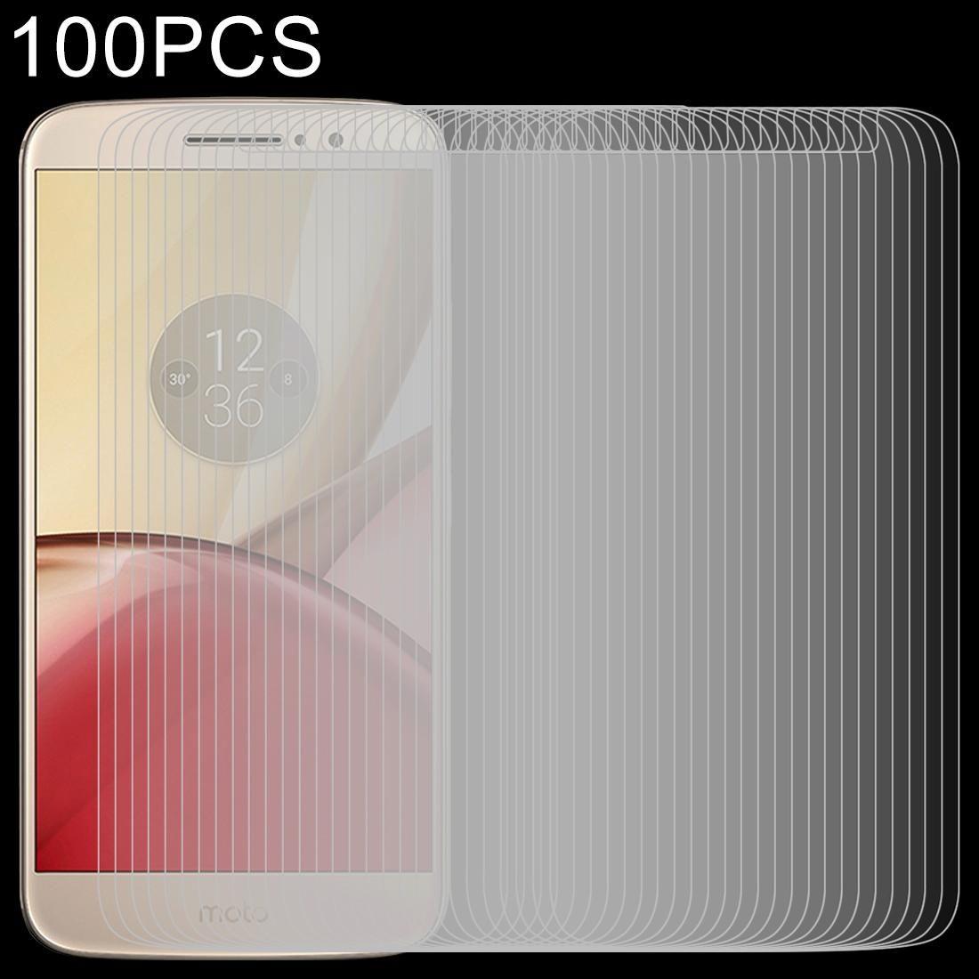 Motorola Moto M 100 adet 0.26 9H 2.5D Temperlenmiş cam film