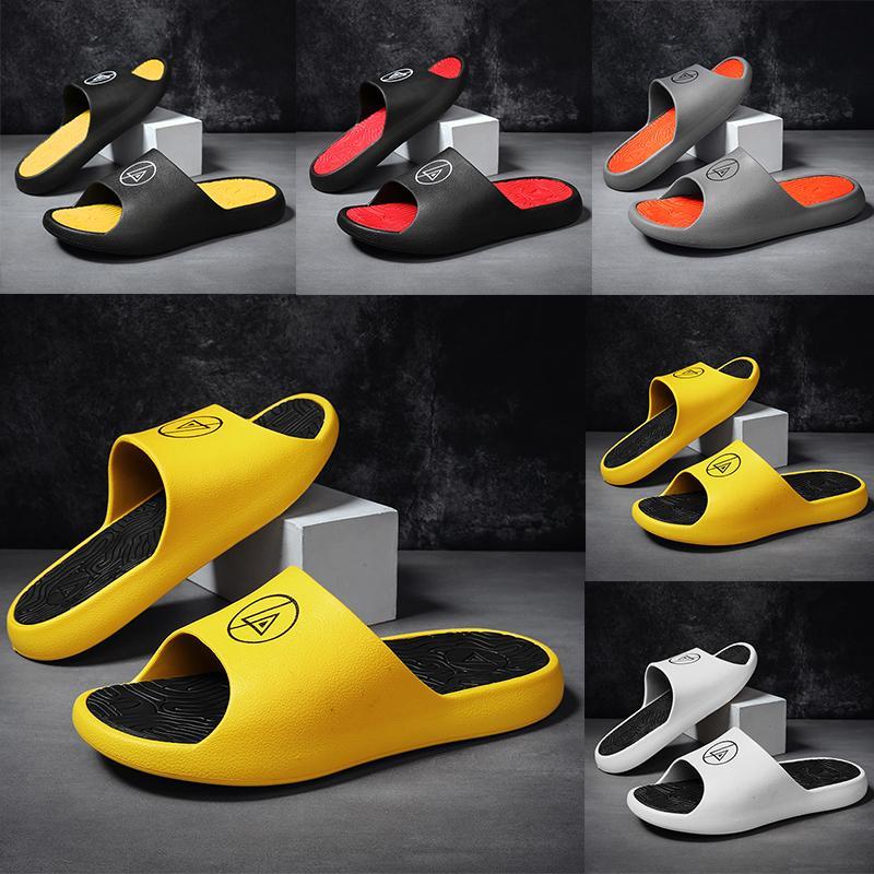 Kanye West resina di modo Bone terra marrone Desert Sand EVA Runner Designer diapositive Mens giallo bianco nero rosso Slipper Slippers Sandals