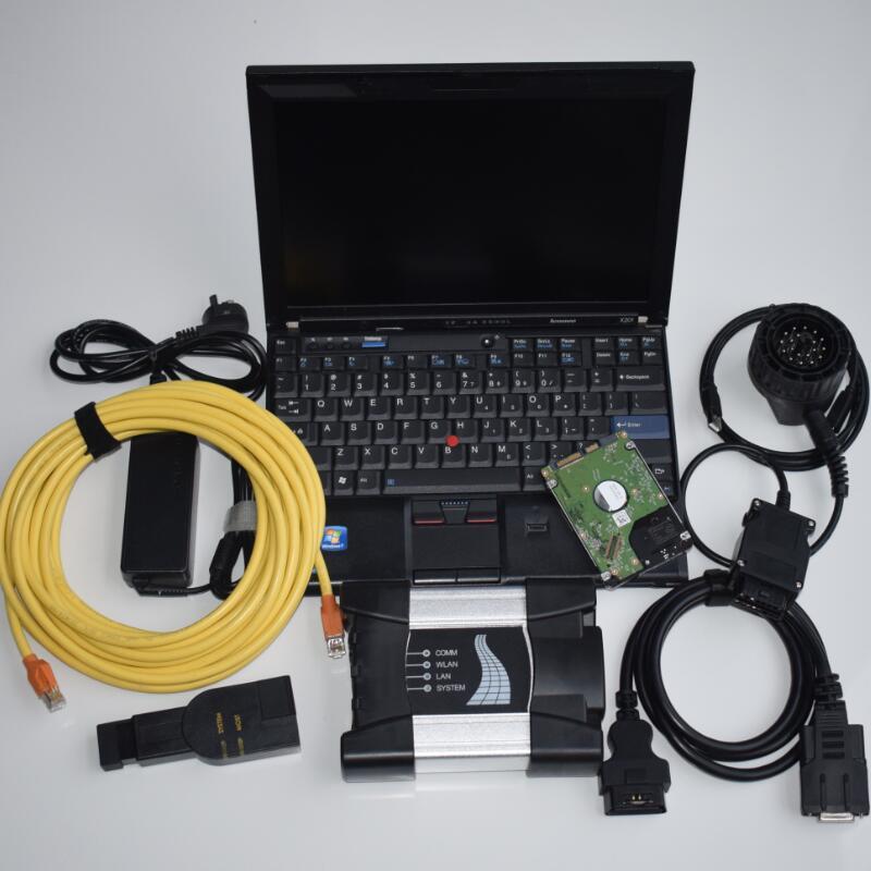 2020 pour l'ICOM Next Software 1 To HDD Logiciel natif avec X201 8g ordinateur portable pour l'ICOM ISTA / D (4,22) ISTA / P (3,67)