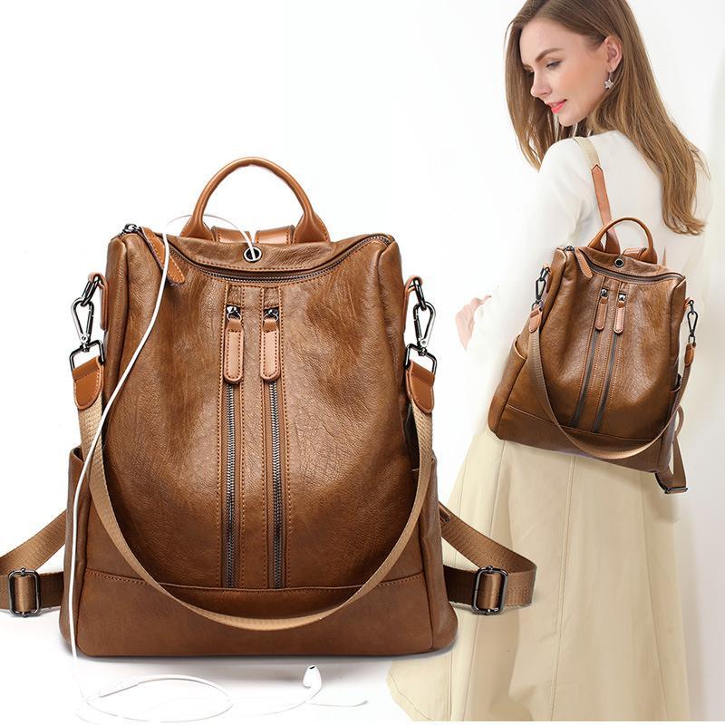 Mochila Mulheres 2020 New coreano Bag Mulheres Travel Bag Casual dupla utilização Backpack Mulheres