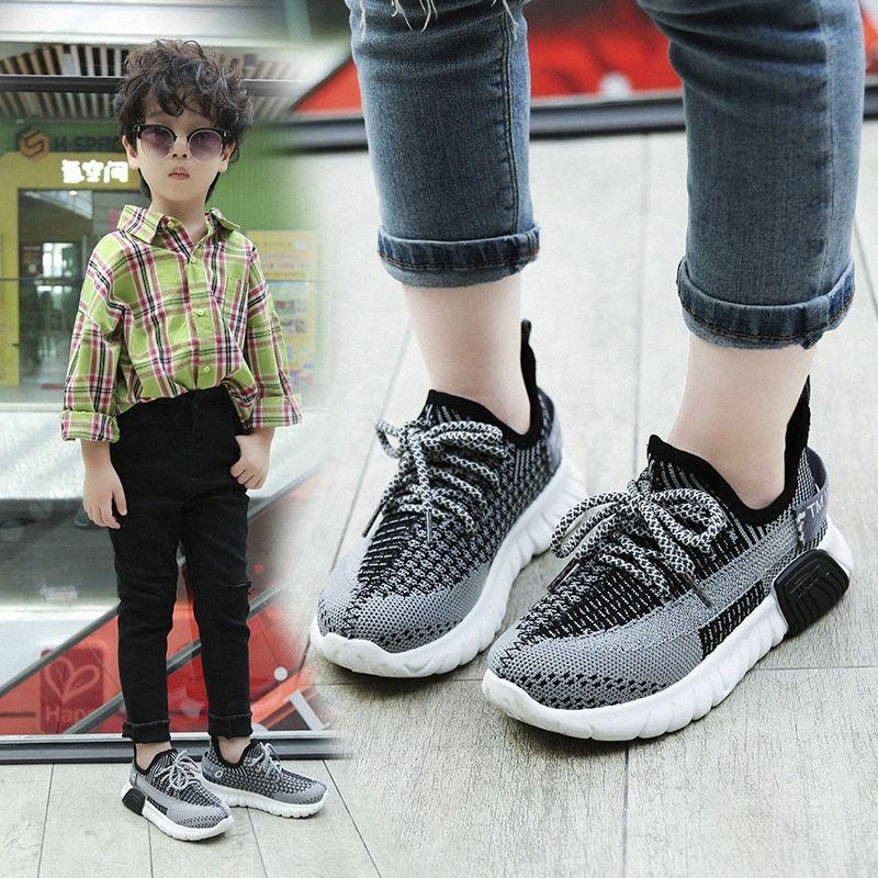 Chaussures enfants Automne Printemps Respirant Garçons Filles Sport Chaussures Enfants coco Casual Chaussures bébé Courir Mesh toile # BRUZ