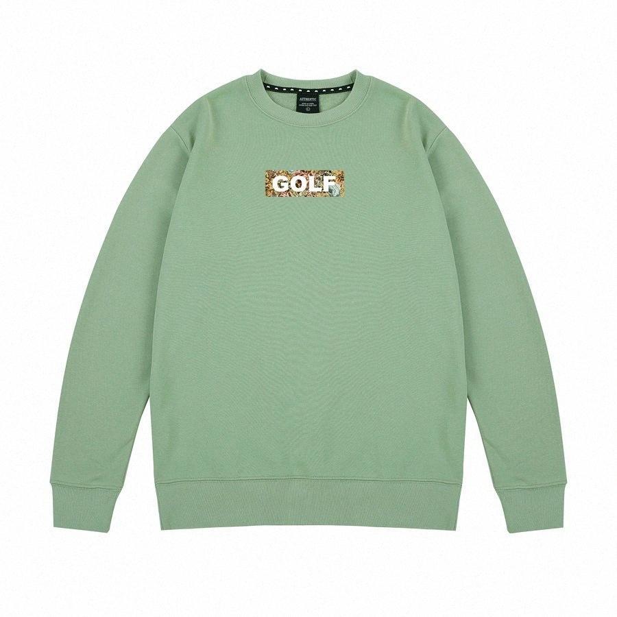 Der Frauen Männer Unisex Cotton Fashion Hoodies Golf Straße Sweatshirts lose Hip Hop Brief Printing Männlich Weiblich Tops dKMf #