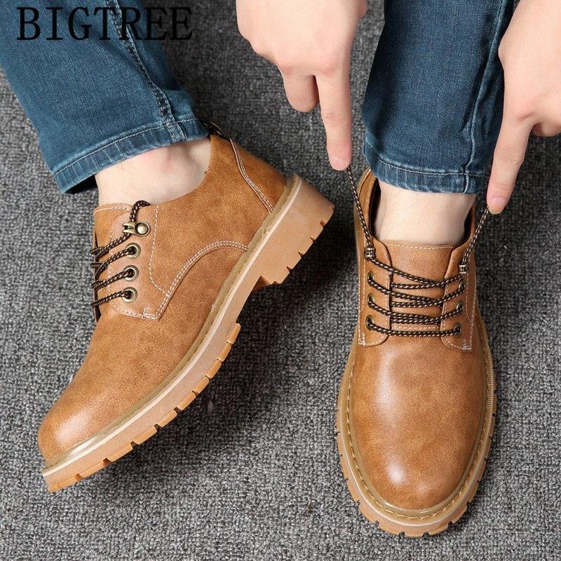 zapatos de los hombres de alta calidad zapatos casuales para hombre hombres invierno corto de cuero de lujo de tenis masculino adulto sepatu PRIA Bbhe #