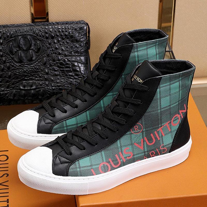 Herrenschuhe Fashion Boots Luxuxqualitäts beiläufige Mann-Schuh--Top Bequeme Schuhe Gießen Hommes Herren Schuhe beiläufige Art L665 Verkauf