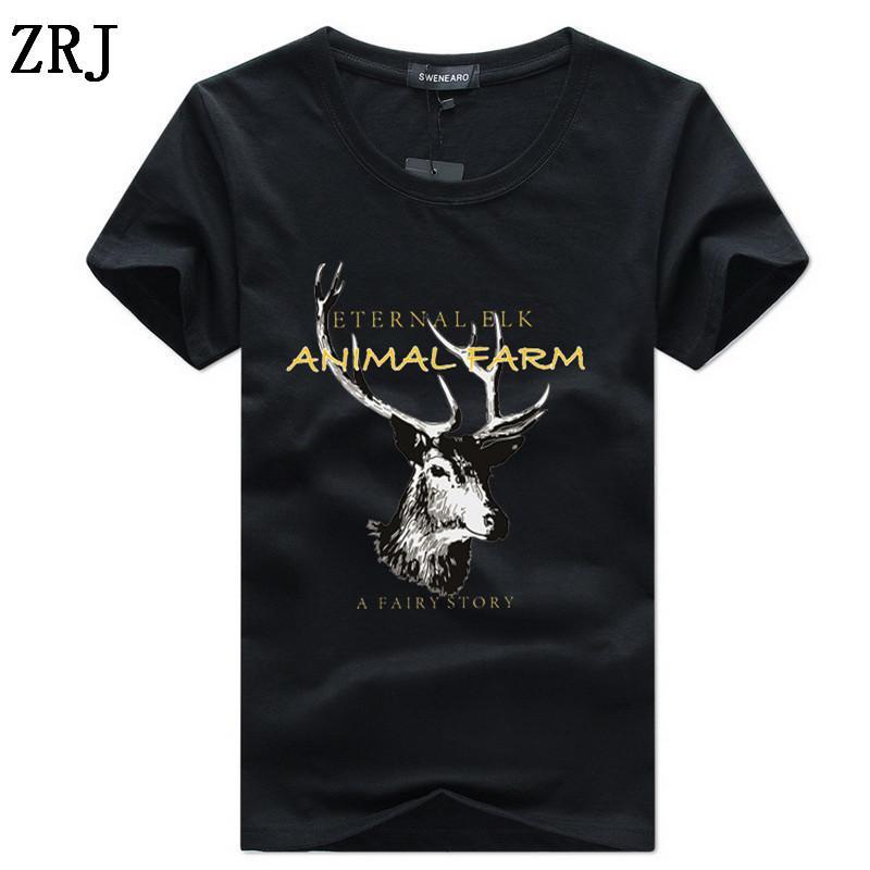 Sommer-Männer-T-Shirts Klassische kurze Hülse O-Ansatz Normallack loses grundlegendes T-Shirt beiläufige Eignung der Männer grundiert Tees Shirts C-9