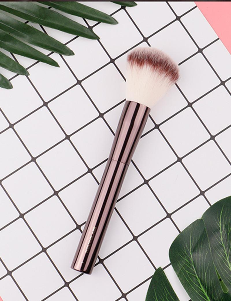 Dropshipping ampulheta No.1 pincel de pó - pó de cabelo macio aplicador de bronzer - Maquiagem de beleza escovas blender ferramentas