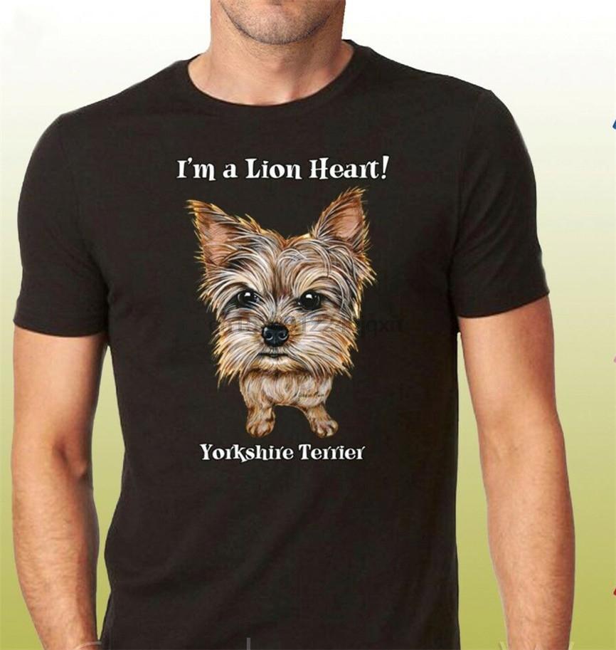 Yorkshire Terrier camisas amantes bonitos do cão de Yorkie gráfico Unisex T-Shirt 19662Hd4 frete grátis Luz Camiseta