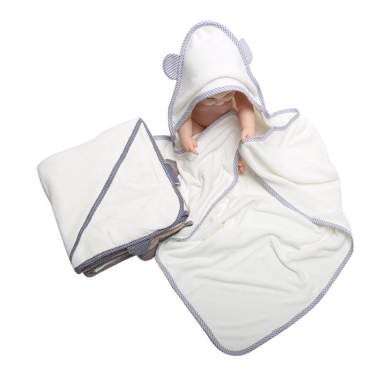 نمط جديد حمام منشفة بطانية البشكير Homewear مقنع التفاف البطانيات لطيف لينة للأطفال الطفل