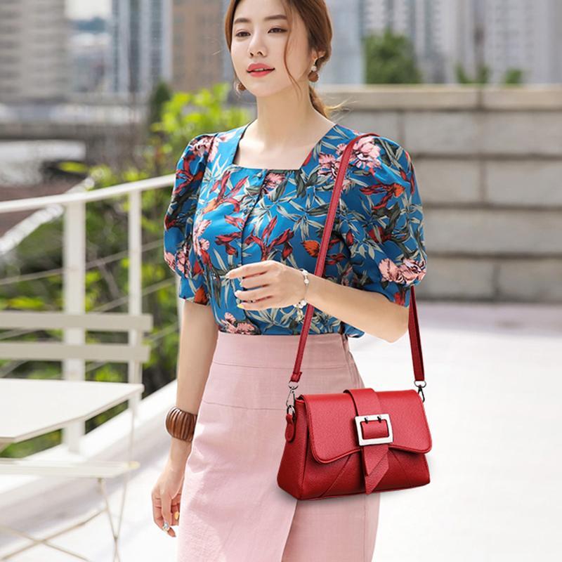 Yüksek Kaliteli Yumuşak pu Deri Kadınlar Çanta Lüks Tasarım Messenger Omuz Çantası Moda Bayan Crossbody Çanta Kadın Bolsas tas