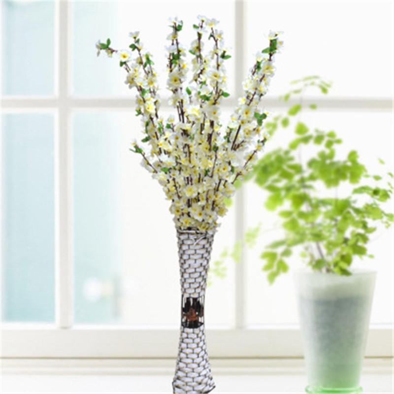 Filiali di Peach Fiore di ciliegio fiori di seta casa Wedding decorazione floreale 65CM 125CM fiore artificiale all'ingrosso