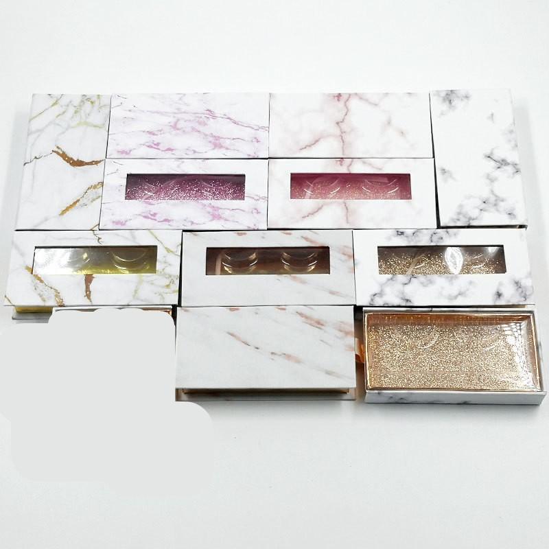 Marmo banda del ciglio di imballaggio Organizzatori cartoni Svuotare contenitori cosmetici rettangolo Mats Silk Ribbon Scatole confezionamento a caldo 3 C2 7yed