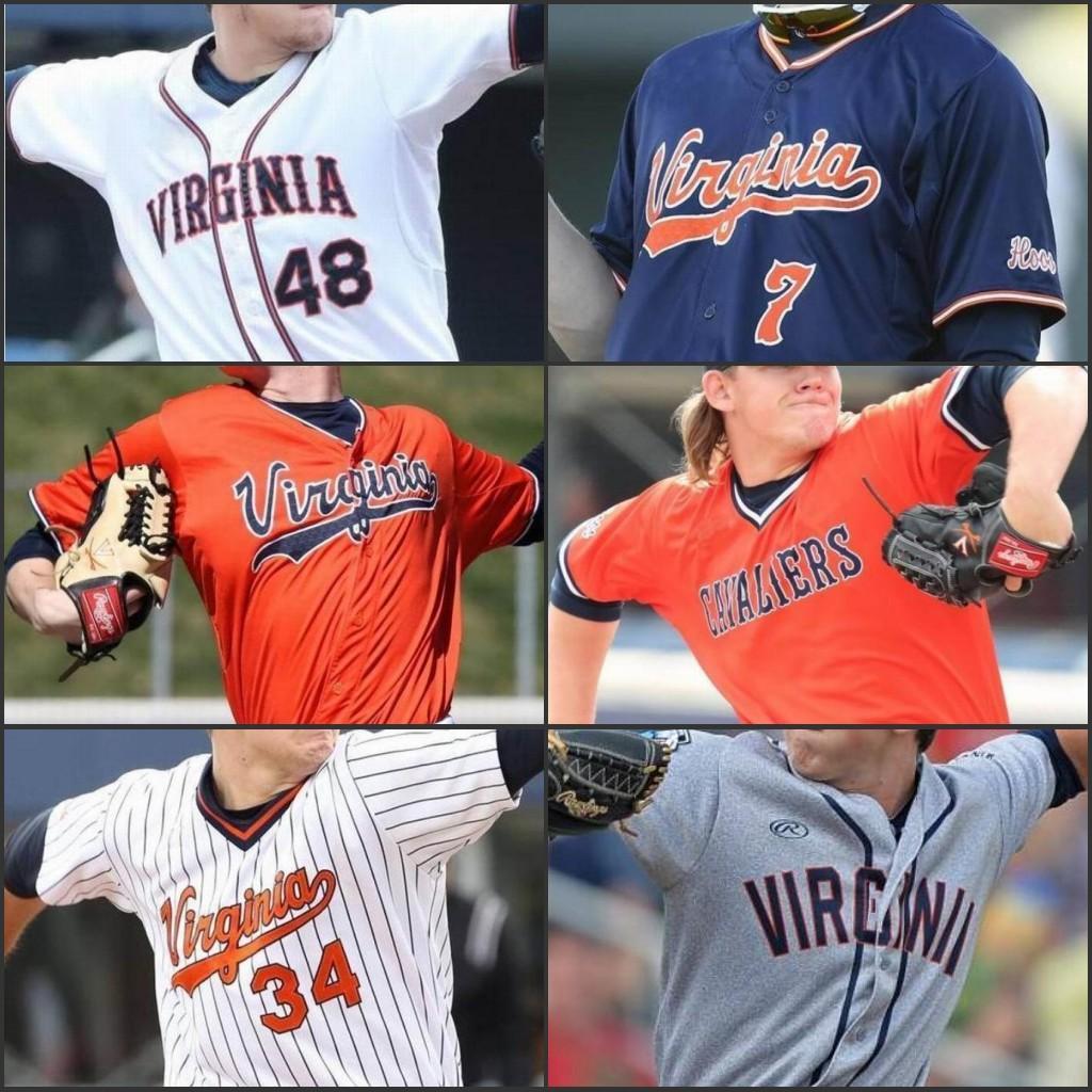 Benutzerdefinierte Virginia Cavaliers College Baseball trägt genähte Mens Frauen Jugend Kyle Petri Griff Agee Evan Shaft Billy Preis Stephen Schoch Trikots