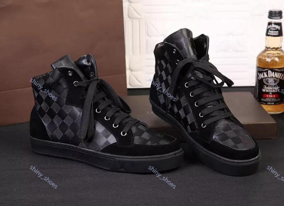 Louis Vuitton sports shoes scarpe casuali dei nuovi uomini di modo di 2020 scarpe di tela scarpe da ginnastica di gomma anatra Martin stivali 39-46