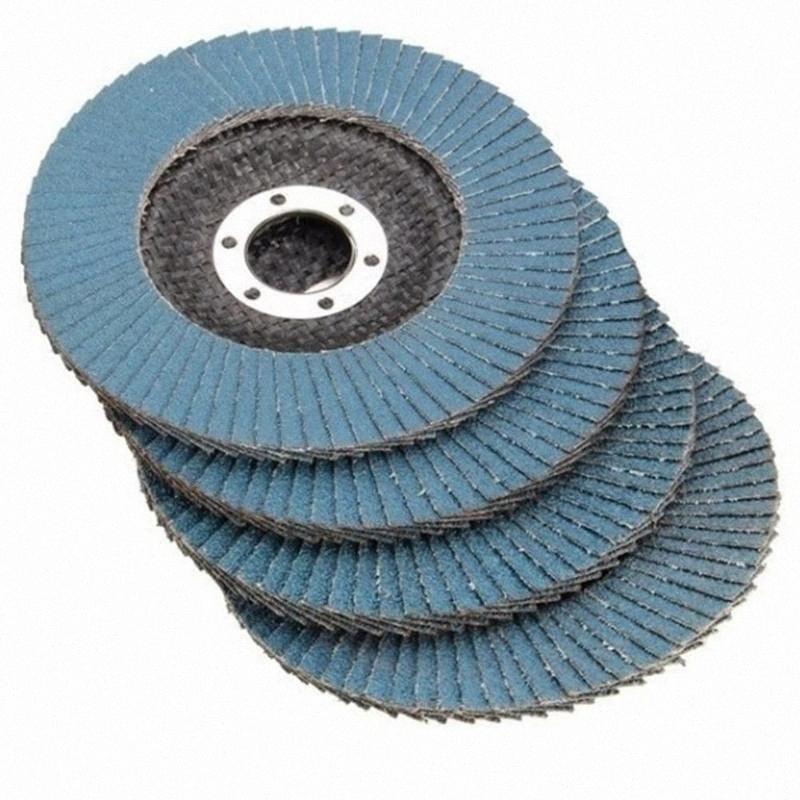 10pcs Professional Grit Grinding Wheel Flap Discs Lapidary 115mm 4.5 Sanding Discs 40/60/80/120 Wear Resistance Abrasive Tools K4kZ#