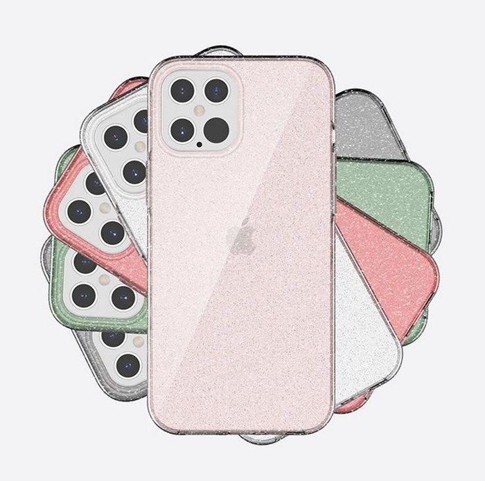 Новая мода Очистить телефон чехол для iPhone 12 11 Pro Max X XR XS Защитная крышка Shell