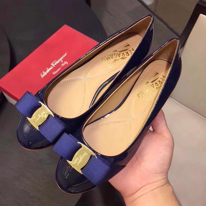 Womens Official Shoes Flat Pumps Shoes