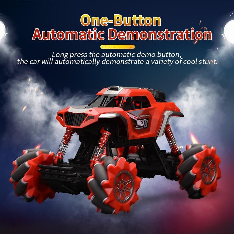 Coche remoto eléctrico coche 4WD Control RC Vehículo para niños para escalar 1:16 Juguete Monster Truck Road Boys 2.4G regalos 03 hvllk