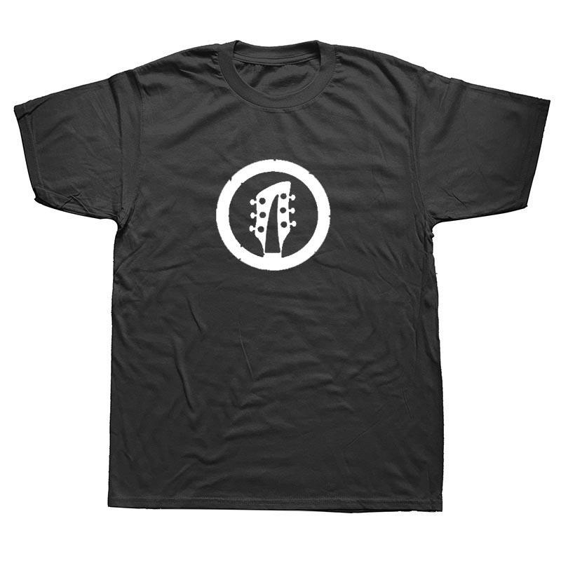 Марка Летняя одежда Стиль музыкальная группа бас-гитарист рок-музыкант Rocker Футболка гитара Heavy Metal T-Shirt Забавный