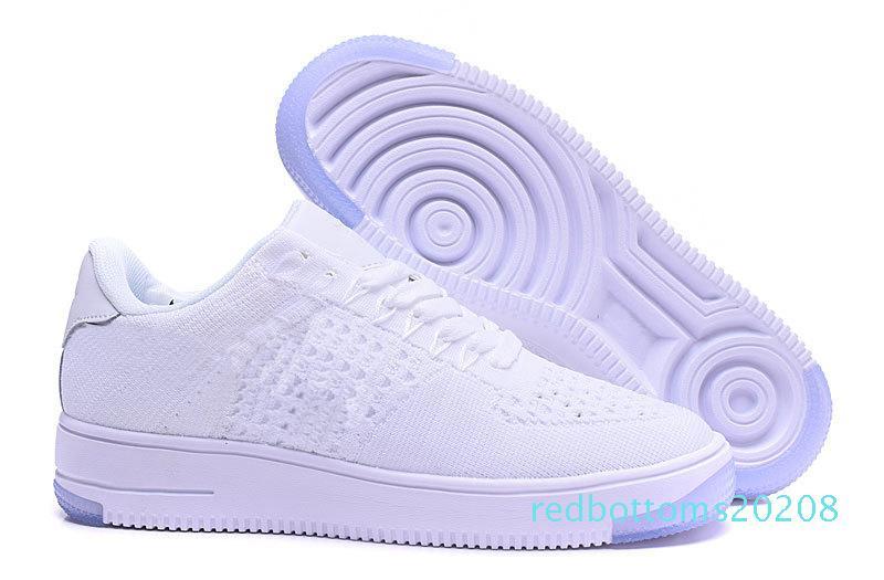 Moda Erkekler Ayakkabı Düşük Bir 1 Erkek Kadınlar Çin Rahat Ayakkabı Fly Tasarımcısı Royaums Tipi Solunum Skate Örgü Femme Homme 36-45 R08