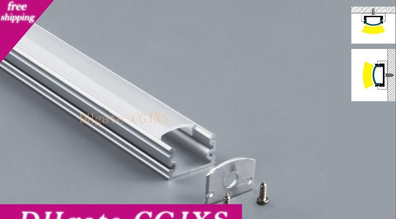 Free Shipping Factory Price High Quality Good Looking 2000mmx17mmx12mm Outdoor Led Strip Light Aluminum Extrusion Profile