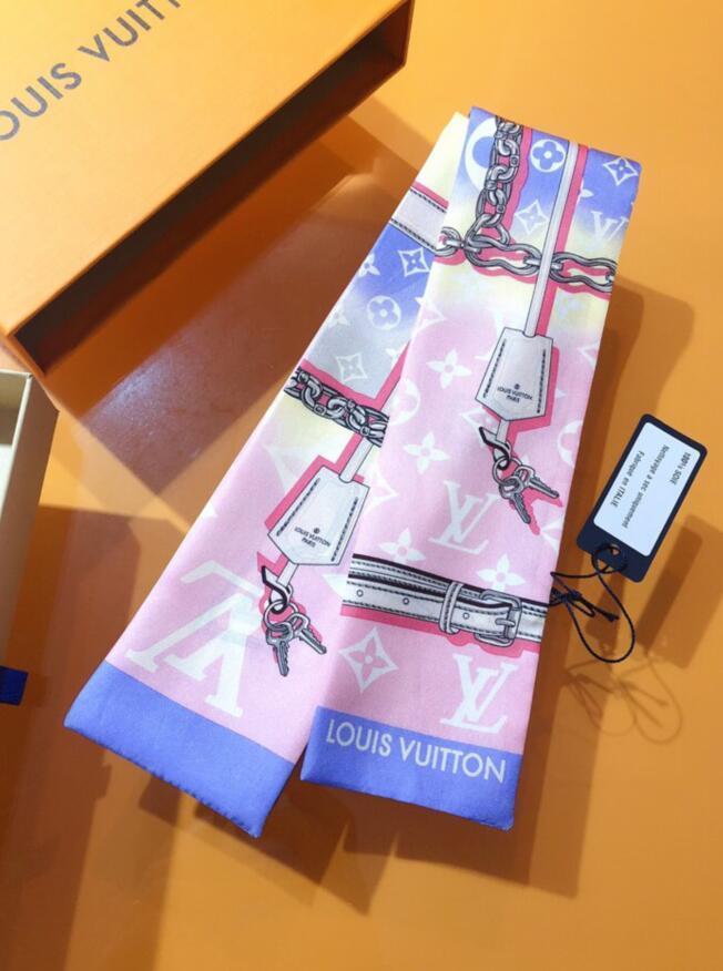 2020 Новая мода женщины дамы шелковый шарф высокого качества шелка длинные шарфы Классический Цветочный печати летом дизайн Женщины шарфы