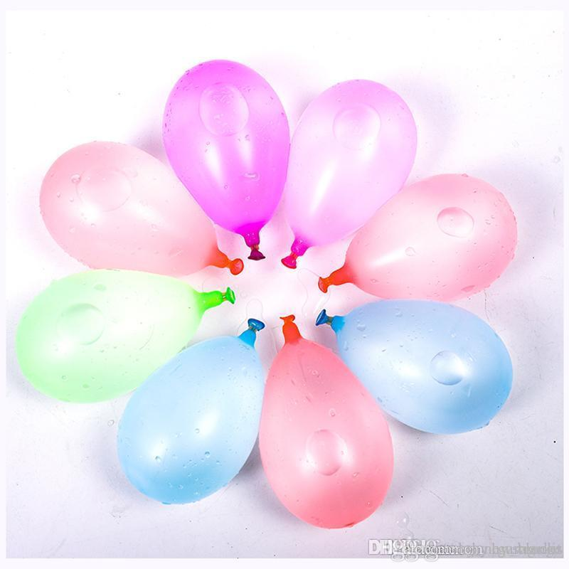 111pcs Wasserballons Sommer-Kind-Wasserbombe Krieg im Freien-Spiel-Partei-Spielzeug für Kinder DHL-freies Verschiffen 03