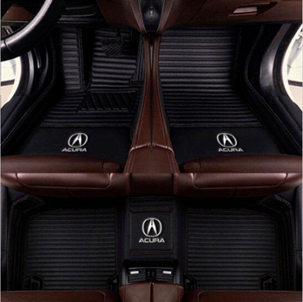 Для Acura TL 2006-2012 Престижное заказ автомобилей Напольный коврик Non токсичны и без запаха