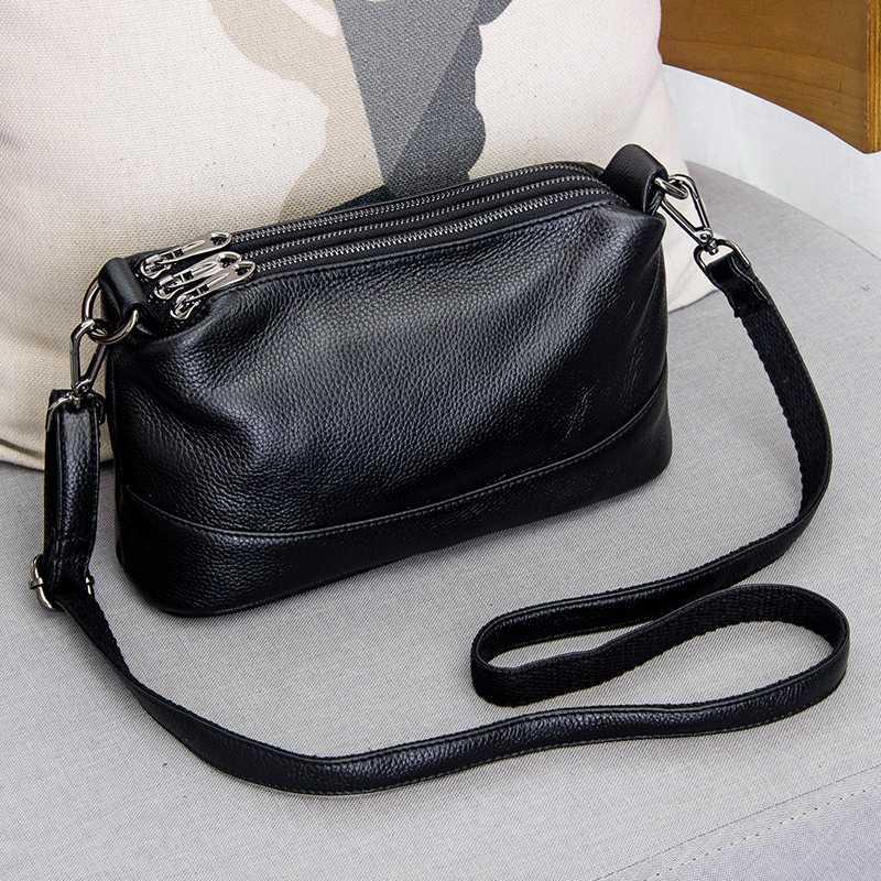 Véritable Arliwwi épaule en cuir de luxe de sac à main de femmes Mode de Crossbody Sacs pour femmes Sac Femme Totes G12