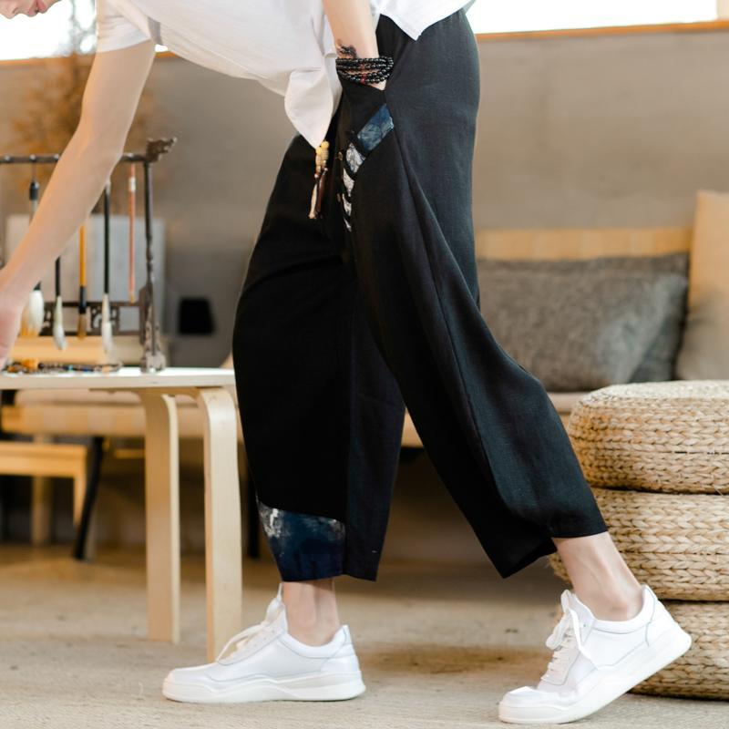 Pantalones casuales pantalones rectos de los hombres de moda Pantalones de chándal para hombre 2020 del resorte de la alta calidad de los hombres de gran tamaño 5XL T200728