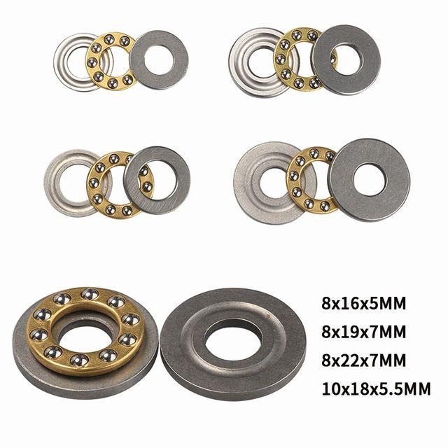 Cheap Eixos 1Pcs 8/10 milímetros de Alta Precisão Thrust Miniatura Rolamentos F8 / F10 metal Bola Axial conjunto de rolamentos para Acessórios de Hardware
