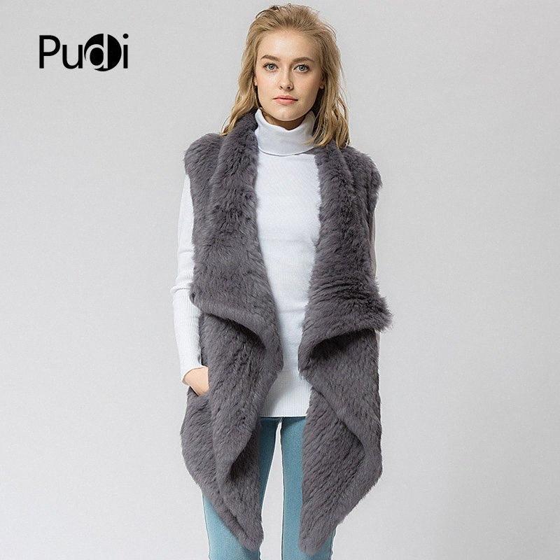 024 de punto tejer nueva piel real del chaleco de invierno caliente genuina piel de las mujeres sobretodo de la chaqueta del chaleco más el tamaño # IB09