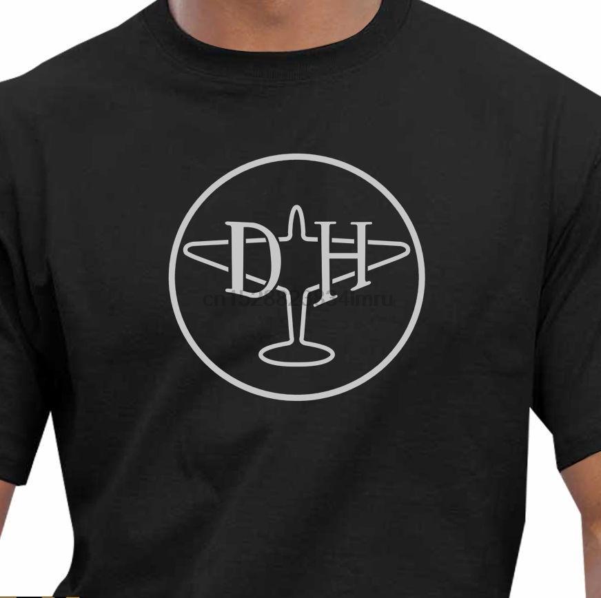 2020 heißen Verkauf-100% Baumwolle Klassisches de Havilland T-Shirt Sommer-Art-T-Shirt
