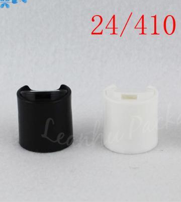 20/410 ve 24/410 Siyah / Beyaz / Şeffaf Plastik Kapak İçin Kozmetik Şişe (100 PC / Lot)