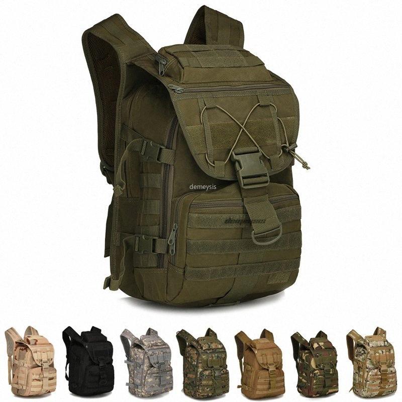 Molle taktischer Rucksack der Männer Armee Klettern Schultertasche Camping Wandern Trekking Tarnung Tasche TPII #