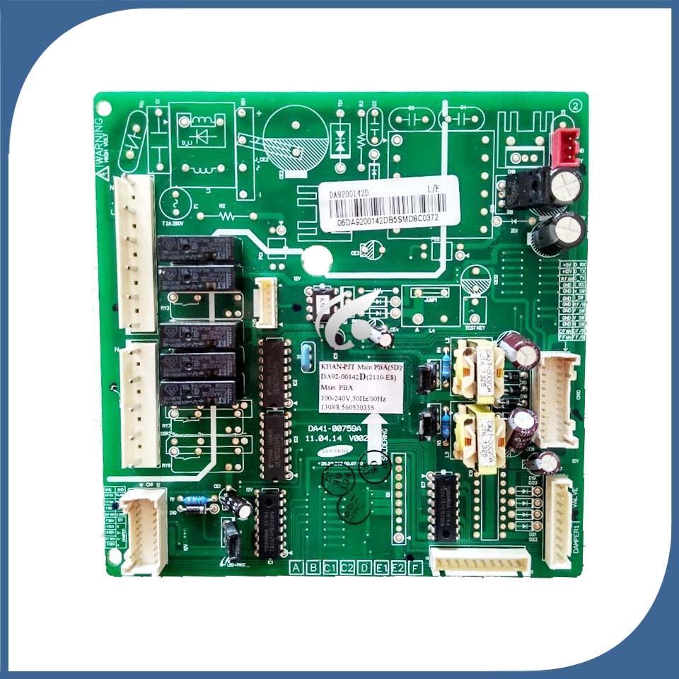 buzdolabı bilgisayar masası güç modülü DA92-00142D DA41-00759A DA92-00308B buzdolabı tahtası bölümü için iyi bir çalışma kullanılan tahta