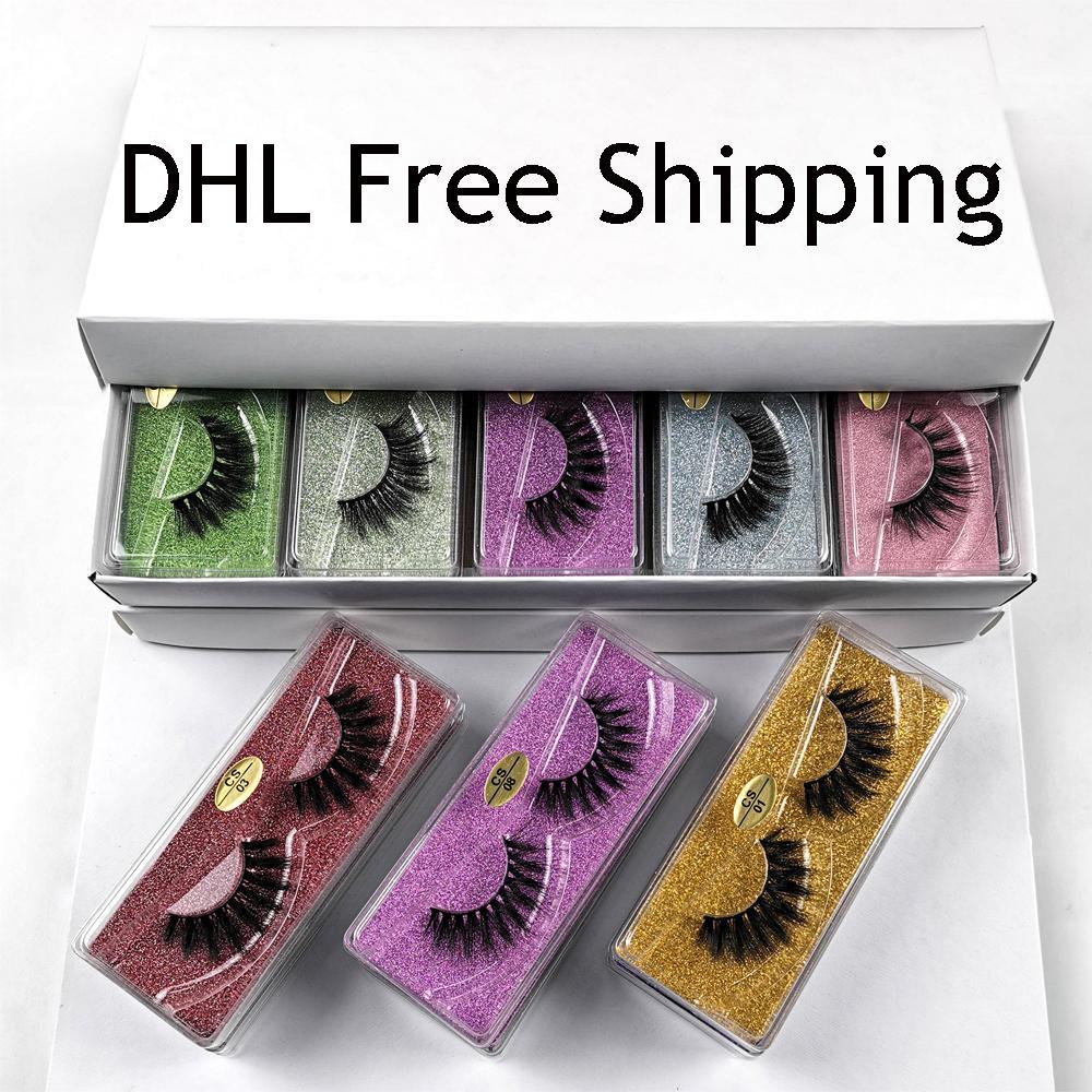 Großhandel Nerz Wimpern 10 Art 3D Nerz Wimpern bulk Wimpernverlängerung natürliche lange falsche Wimpern Make-up Eye Lashes In bulk